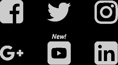 social network logos mobile